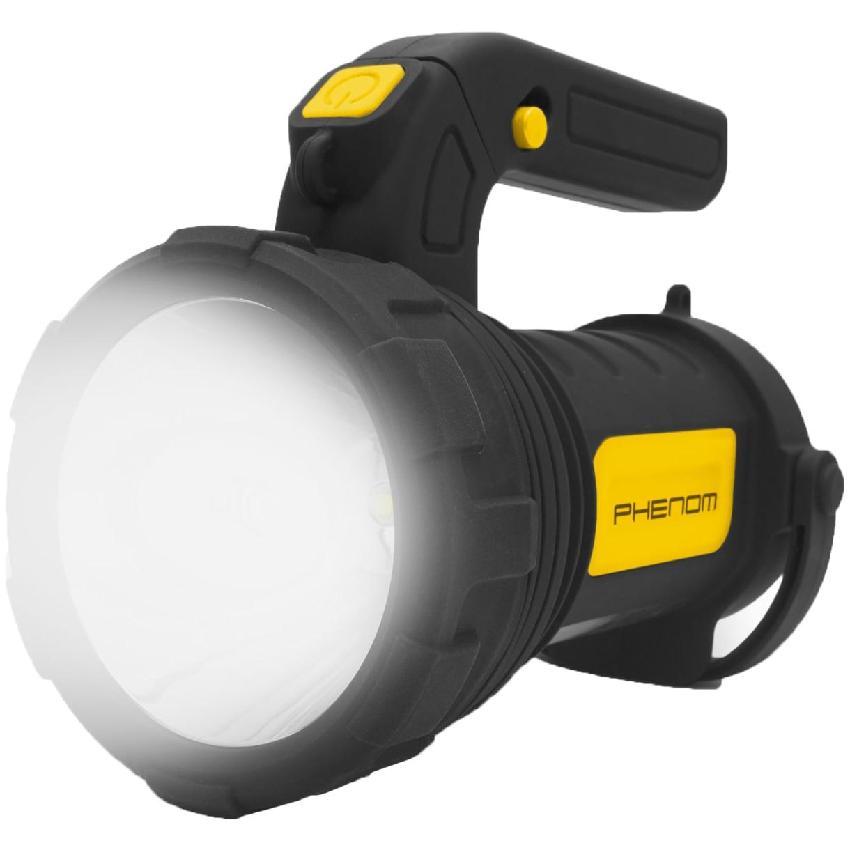 Fotografie Lanterna LED de lucru Phenom, 275 lm, lumina rece, 3xAA, Negru/Galben