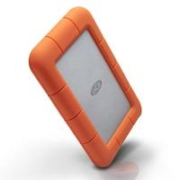 """1TB LaCie Rugged Mini (сребрист/оранжев), външен, 2.5"""" (6.35 cm), USB 3.0"""