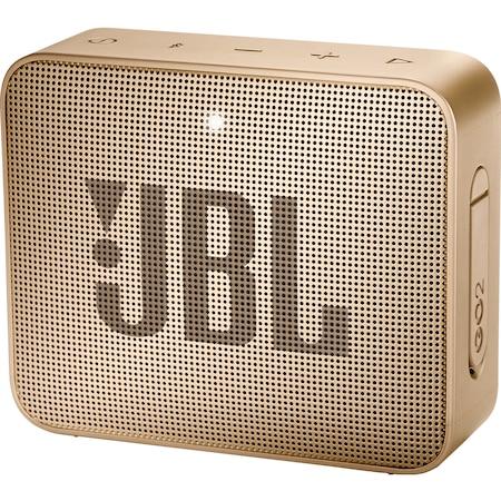 Boxa portabila JBL Go2, IPX7, sampanie