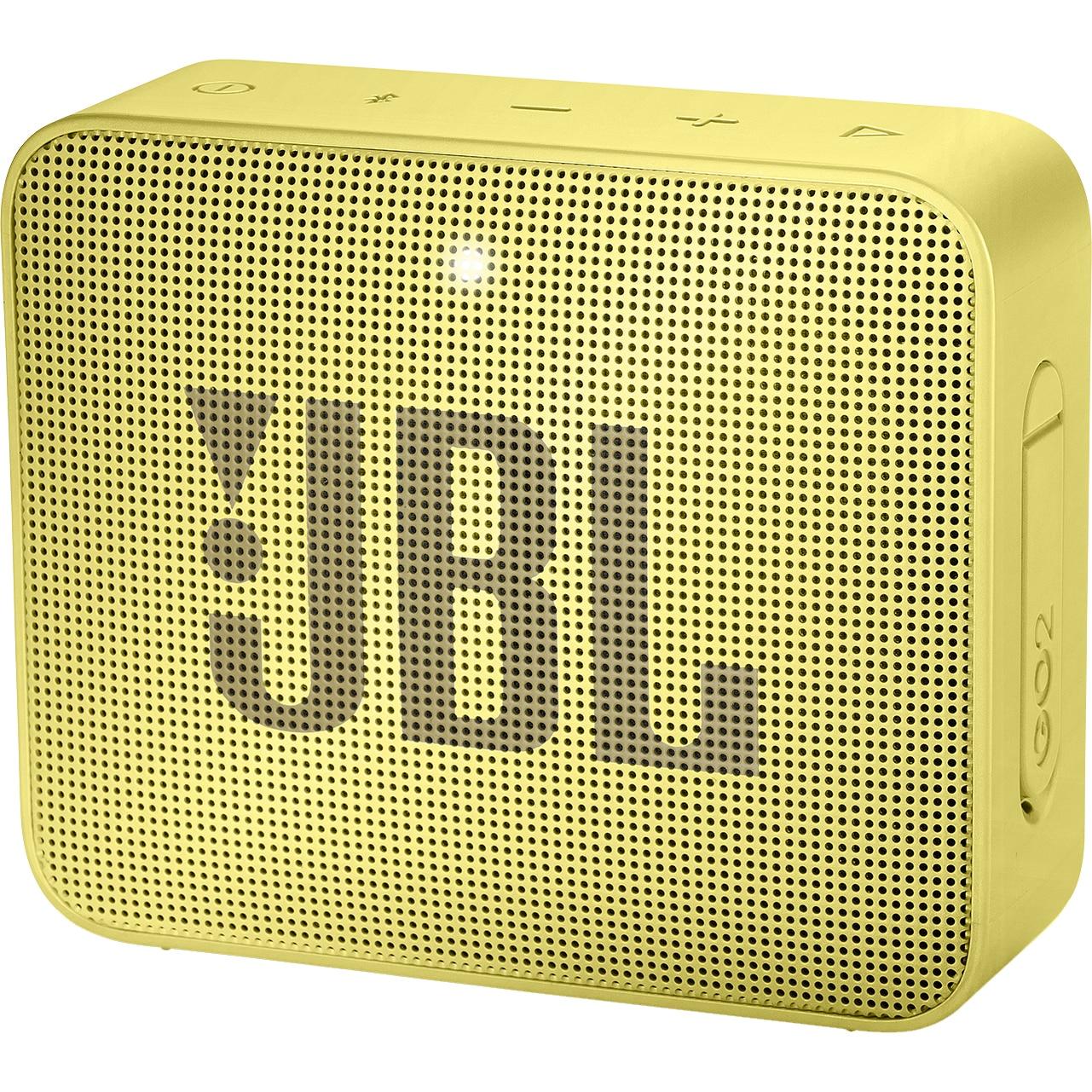 Fotografie Boxa portabila JBL Go2, IPX7, galben