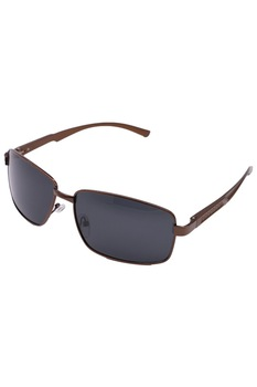 Мъжки слънчеви очила ROCS P1023 поляризирани, правоъгълни, кафяв
