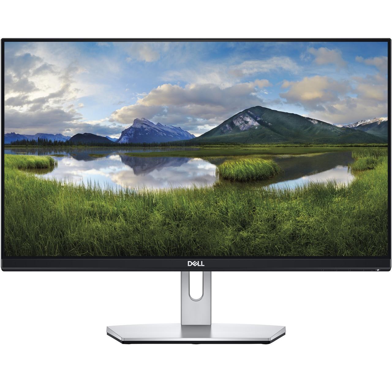 "Fotografie Monitor IPS LED Dell 23"", Full HD, HDMI, Negru-Argintiu, S2319H"