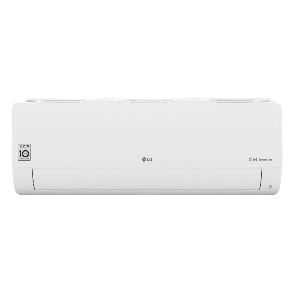 Fotografie Aparat de aer conditionat LG Standard Wi-Fi 12000 BTU, Clasa A++, Functie incalzire, 10 ani garantie compresor, Filtru protectie Dual, Controlul energiei active, S12ET Dual Inverter, R32