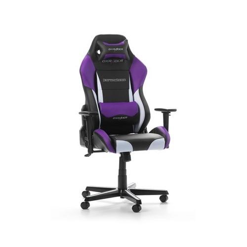 DXRacer Drifting D61 NWV FeketeFehérLila Gamer szék
