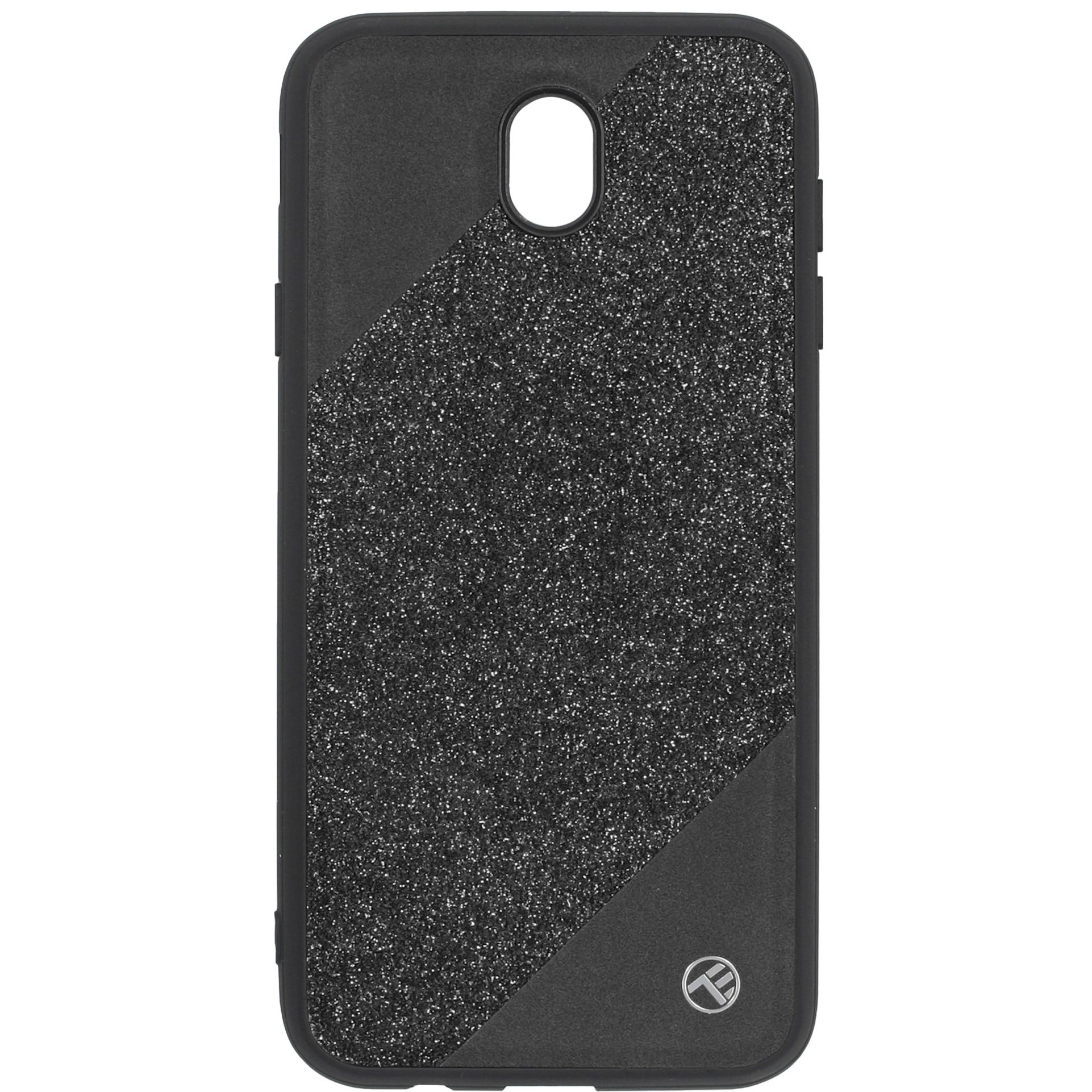 Fotografie Husa de protectie Tellur Glitter III pentru Samsung Galaxy J7 2017, Black