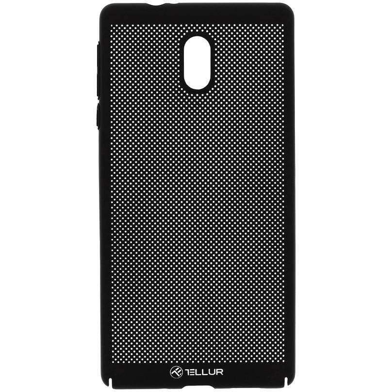 Fotografie Husa de protectie Tellur Heat Dissipation pentru Nokia 3, Negru