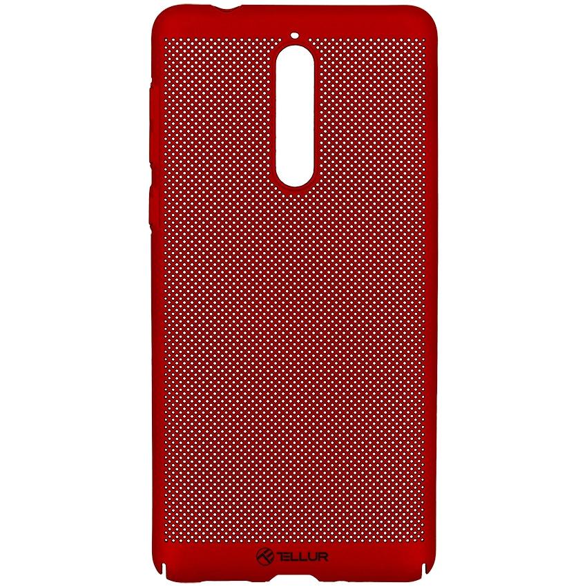 Fotografie Husa de protectie Tellur Heat Dissipation pentru Nokia 5, Rosu