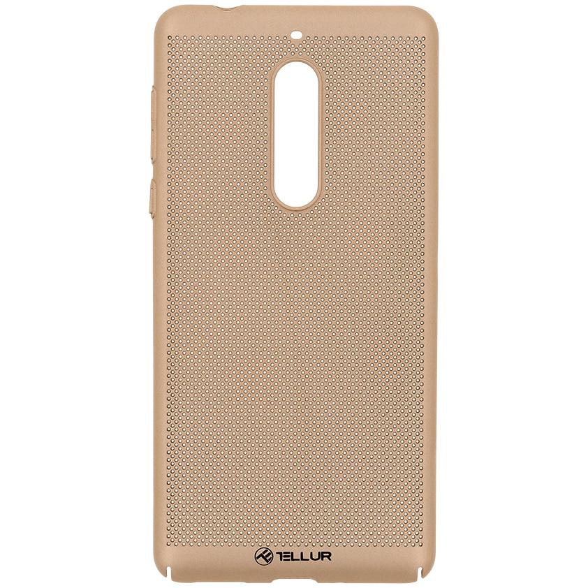 Fotografie Husa de protectie Tellur Heat Dissipation pentru Nokia 5, Auriu