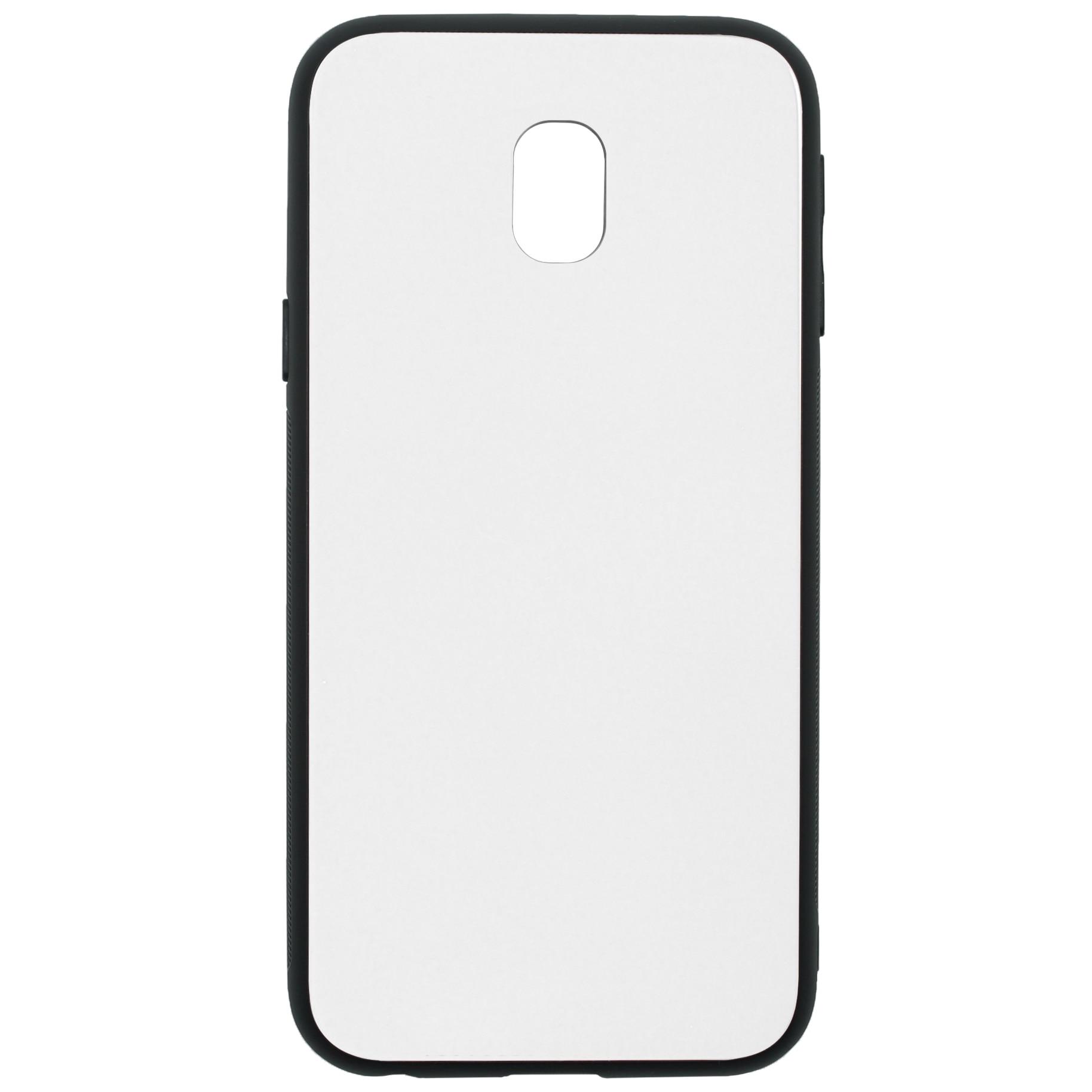Fotografie Husa de protectie Tellur Glass DUO pentru Samsung Galaxy J3 2017, White