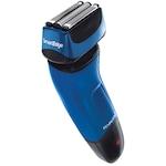 Самобръсначка Remington LiftLogic Smart Edge XF8500, 3 подвижни сита, Wet & Dry, Акумулатор, Черна/Синя