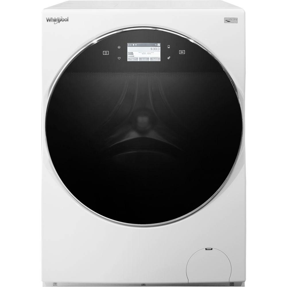 Fotografie Masina de spalat rufe Whirlpool FRR12451, 12 kg, 1400 RPM, 6 th sense, Wi-Fi, Zen Tehnology Direct Drive, Dozaj automat de detergent, Clasa A+++, Alb