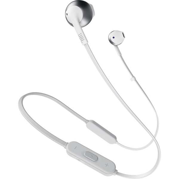 Fotografie Casti In-Ear JBL T205BT, JBL Pure Bass Sound, Bluetooth, gri