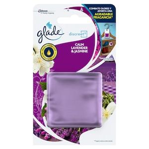 Rezerva odorizant de camera Glade Discreet Soothing Lavender & Jasmine, 8 g