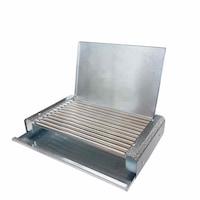 Електрическа българска скара Elekom, С капак, 1600 W