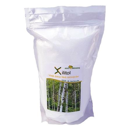 Xylitol (zahar de mesteacan) , AdioGrasime, 1000g