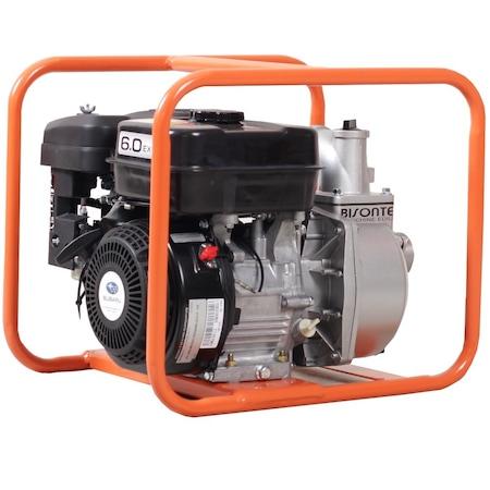 Motopompa Bisonte MPA2-S pentru apa murdara, debit apa 36 mc/h, diametru refulare 50 mm, Motor Subaru 5.7 cp - benzina