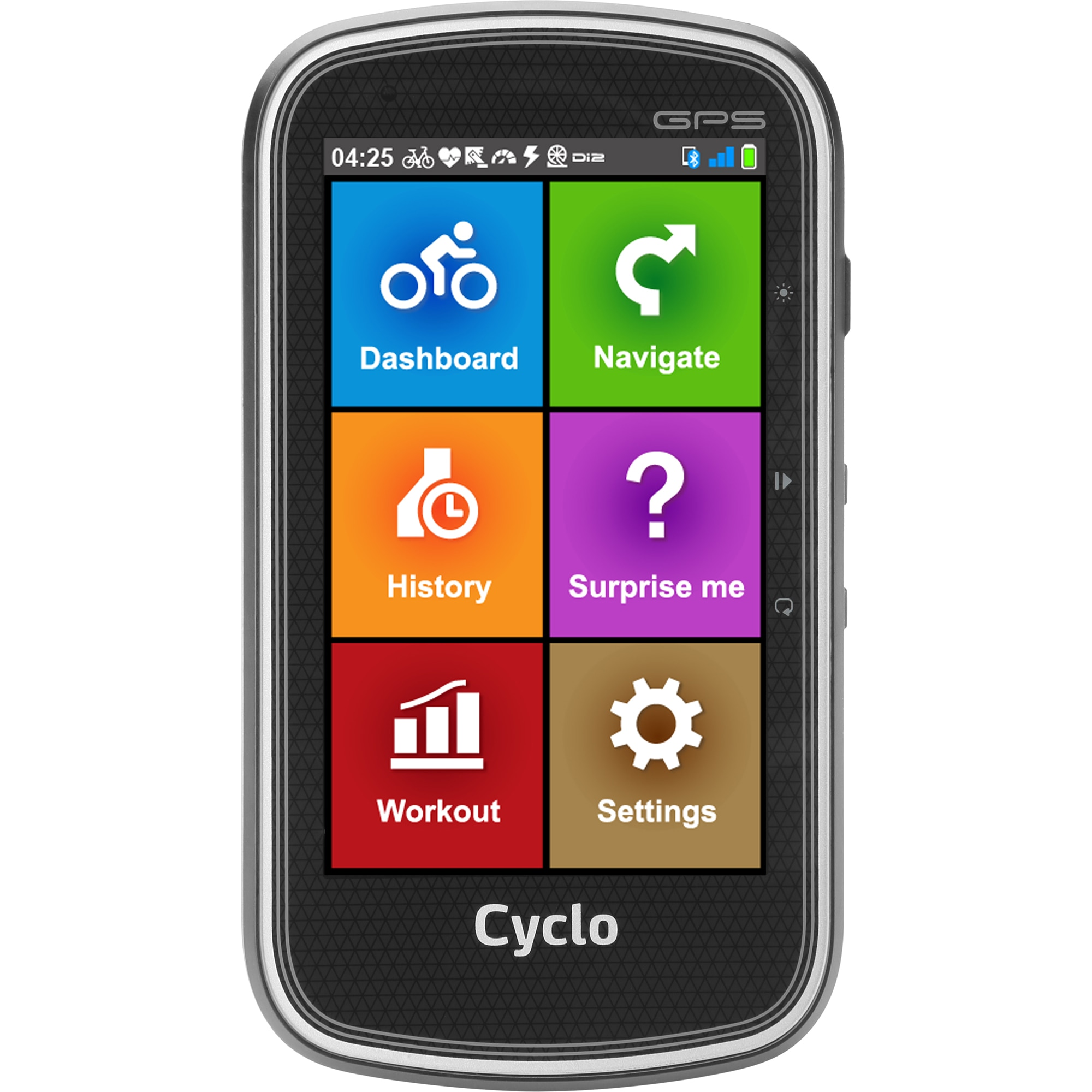 "Fotografie Sistem de navigatie bicicleta Mio MioCyc405HC, ecran tactil antireflex de 4"", bluetooth, compatibil Starva Segments, senzor ANT+ integrat, harti preinstalate FEU"
