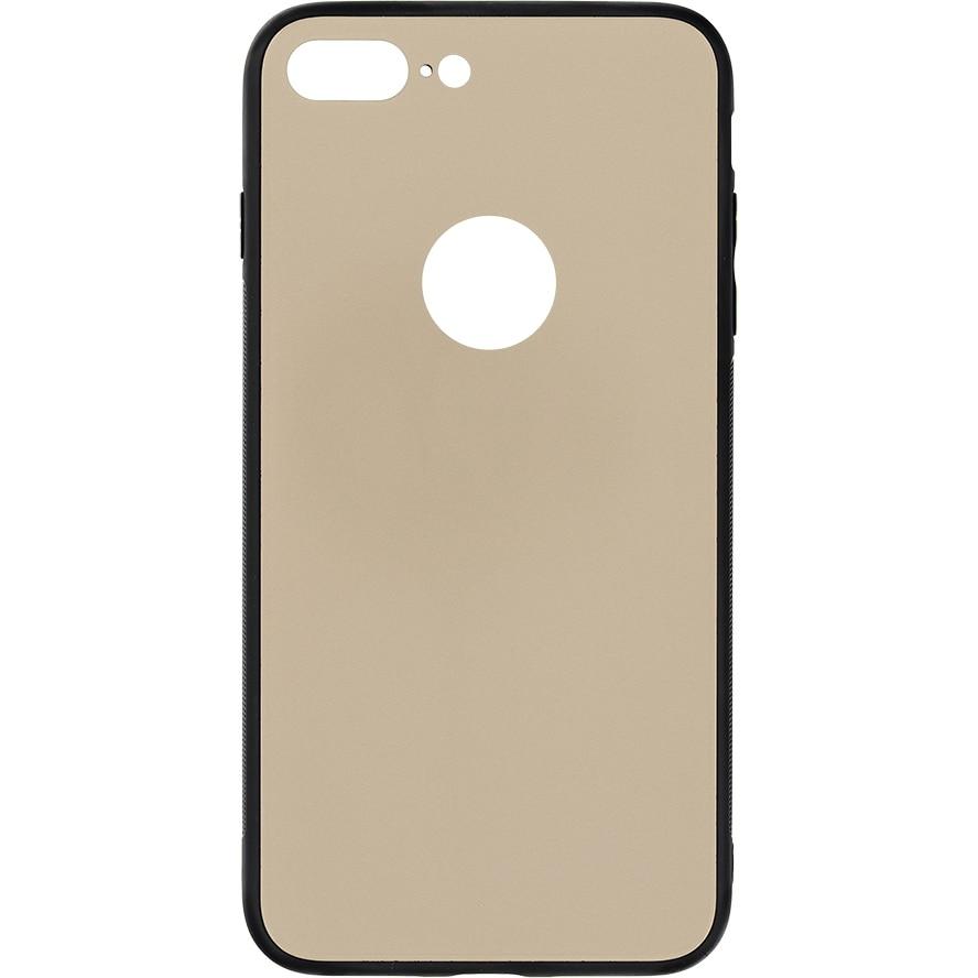 Fotografie Husa de protectie Tellur Glass DUO pentru Apple iPhone 8 Plus, Auriu