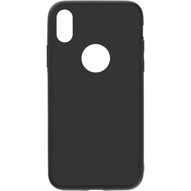 Fotografie Husa de protectie Tellur Glass DUO pentru Apple iPhone X, iPhone Xs, Negru