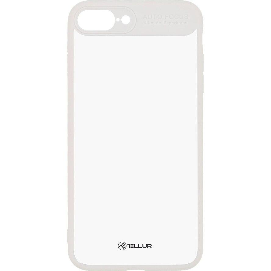 Fotografie Husa de protectie Tellur Hybrid Matt Bumper pentru Apple iPhone 8 Plus, Alb