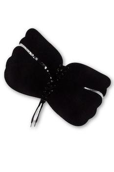 Bella Rosa push-up, szilikon, pántok és kapcsok nélküli melltartó,fekete,C