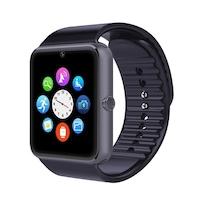 Смарт часовник Smart Wear GT08, слот за сим карта и мемори карта, камера, bluetooth, Черен / Black