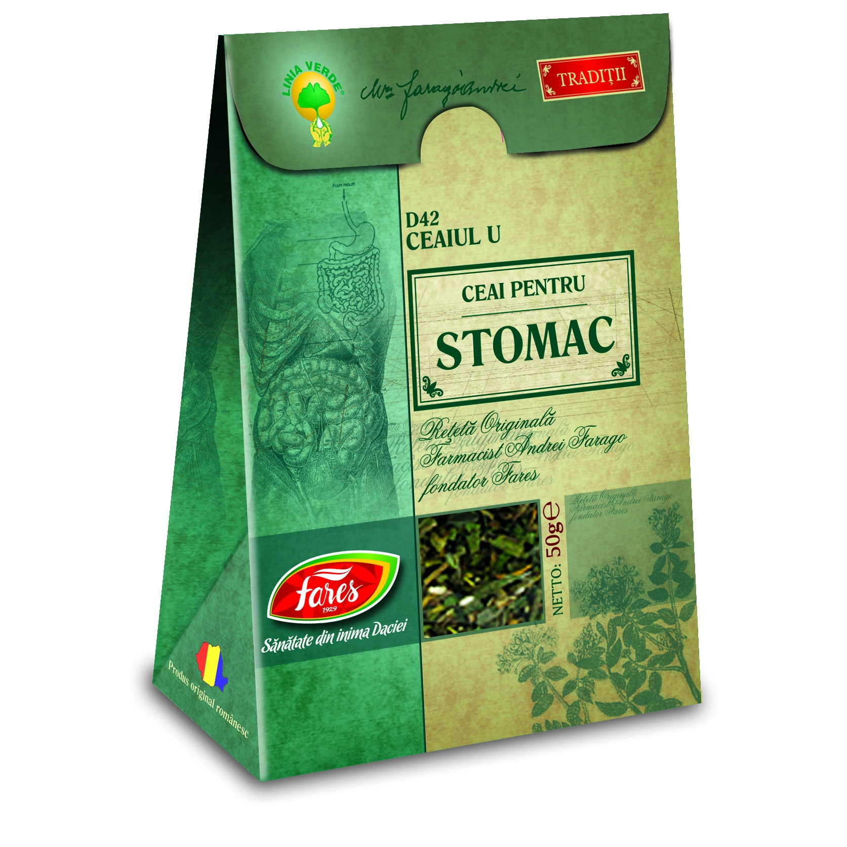 ceai pentru stomac si colon)