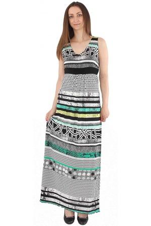Дълга рокля Elmaira Фросина, Многоцветна