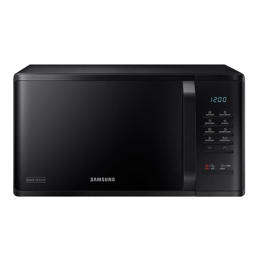 Fotografie Cuptor cu microunde Samsung MS23K3513, 23 l, Digital, Quick Defrost, 800 W, Negru