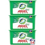 Detergent capsule Ariel All in One PODS Mountain Spring, 54 spalari