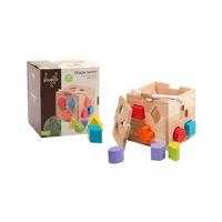 Joueco - Fa játék, formák, Sokszínű