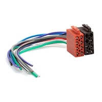 ISO tápfeszültség és hangszóró dugó, Csatlakozó /cs-iso02/