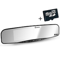 DOD RX400W Autós kamera tükör DVR, Full HD, GPS, Sharp, WDR, G-szenzor + Kártya MicroSD 32GB