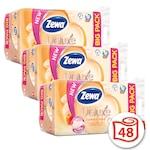 Zewa Deluxe 3 rétegű toalettpapír, Cashmere Peach, 3x16 tekercs