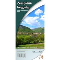 Zempléni-hegység turista és kerékpártúra térkép (2014)