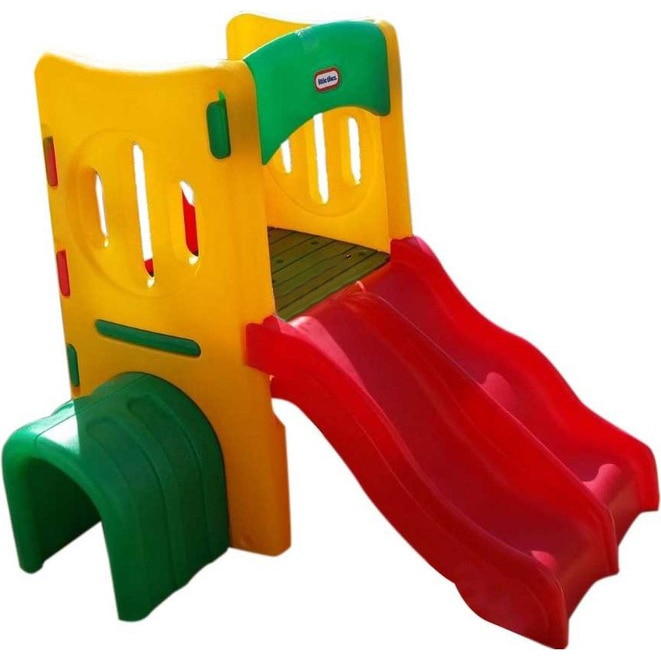 Fotografie Spatiu de joaca Little Tikes Playground, cu tunel si tobogane