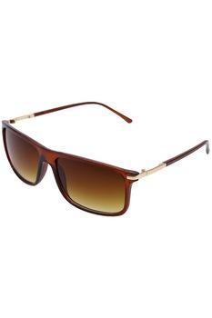 Мъжки слънчеви очила ROCS, Правоъгълни, UV 400, Кафяв