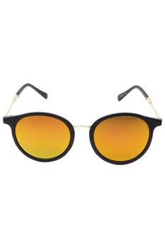 Дамски слънчеви очила ROCS, Кръгли, Огледална леща, Кафяв
