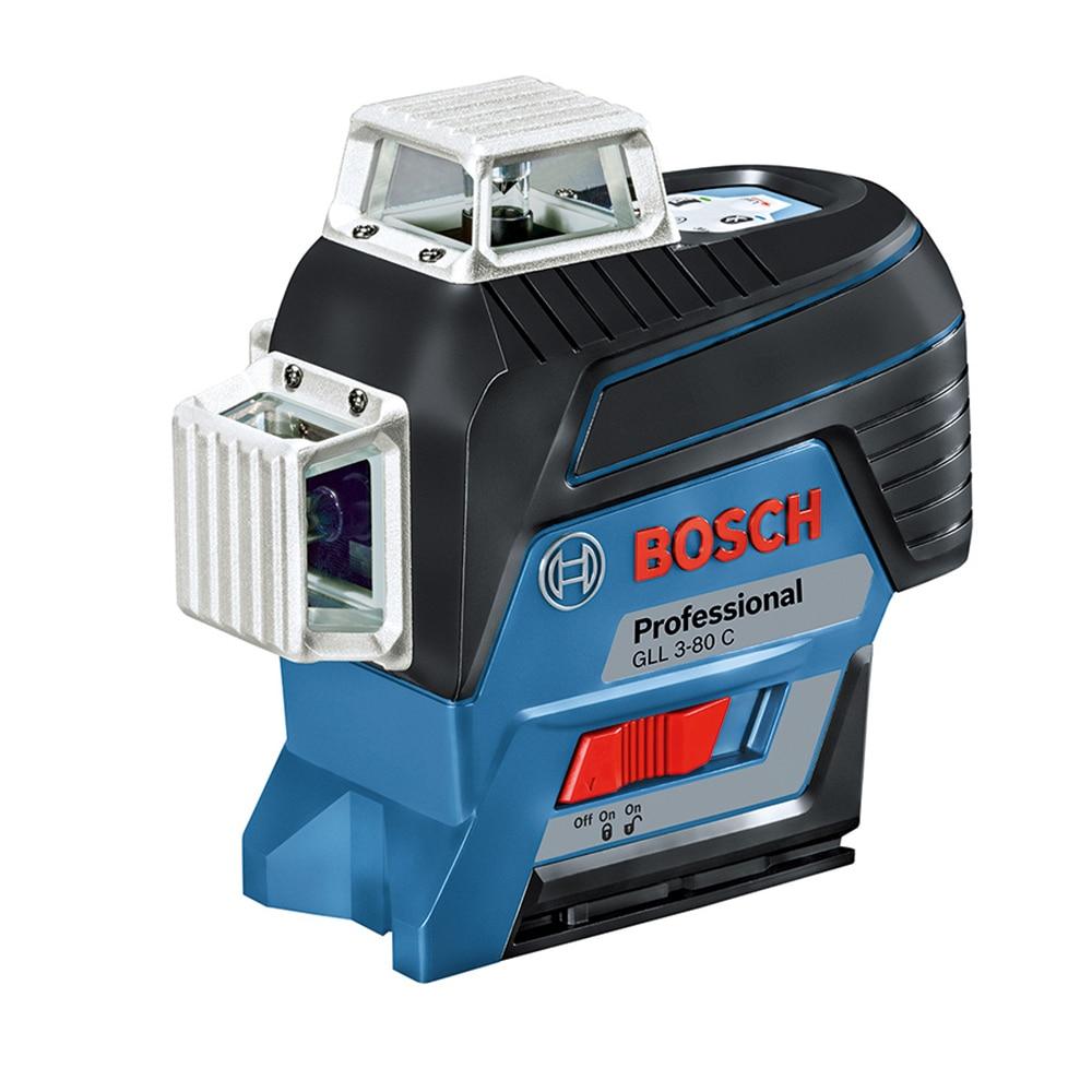 Fotografie Nivela laser cu linii GLL 3-80 C + BT 150 Bosch Professional + stativ