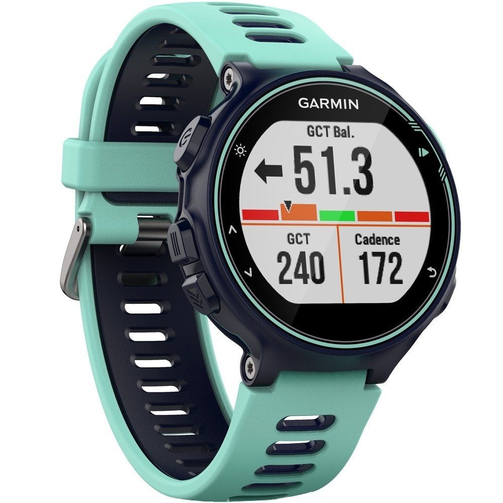 Fotografie Ceas smartwatch Garmin Forerunner 735XT, HR, Blue/Celeste