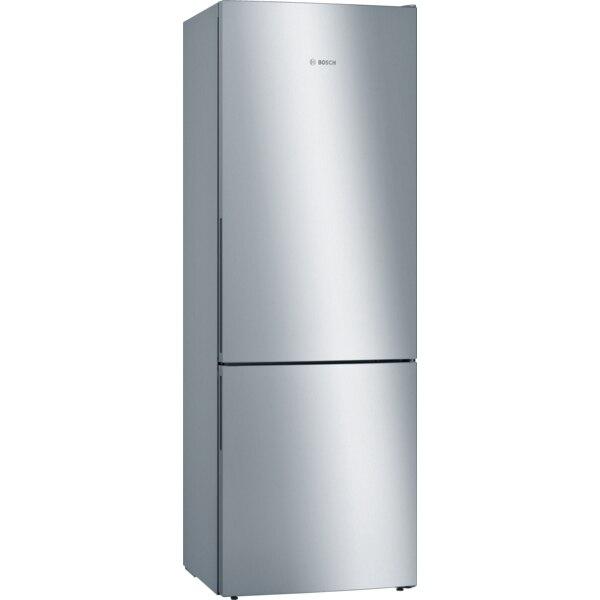 Fotografie Combina frigorifica Bosch KGE49VI4A , 412 l, Clasa A+++, Low Frost , VitaFresh , H 201 cm, Inox