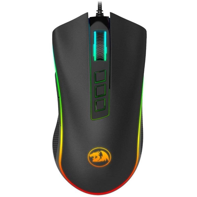 Fotografie Mouse gaming Redragon Cobra RGB, Negru