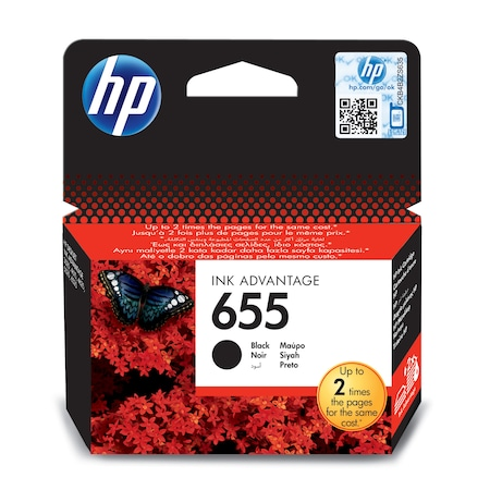 Cartus cerneala HP ink advantage 655, CZ109AE, Black