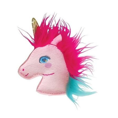 Set de cusut portofel, Model unicorn
