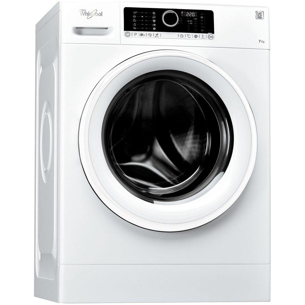 Fotografie Masina de spalat rufe Whirlpool Supreme Care FSCR70414, 6th Sense, 7 kg, 1400 RPM, Clasa A+++, 60 cm, Alb