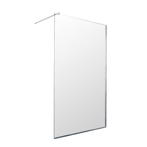 Fotografie Paravan de dus walk-in Sanotechnik Freedom II MP400, sticla securizata, Easyclean, 137-139x195 cm