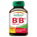 Jamieson B6, B12-vitamin és folsav 110 tbl.