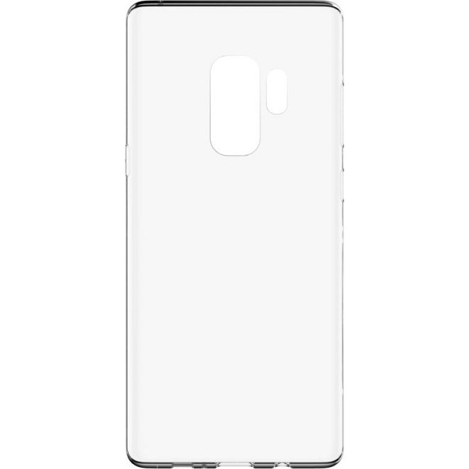 Fotografie Husa de protectie Lemontti Silicon pentru Samsung Galaxy S9 Plus G965, Clear