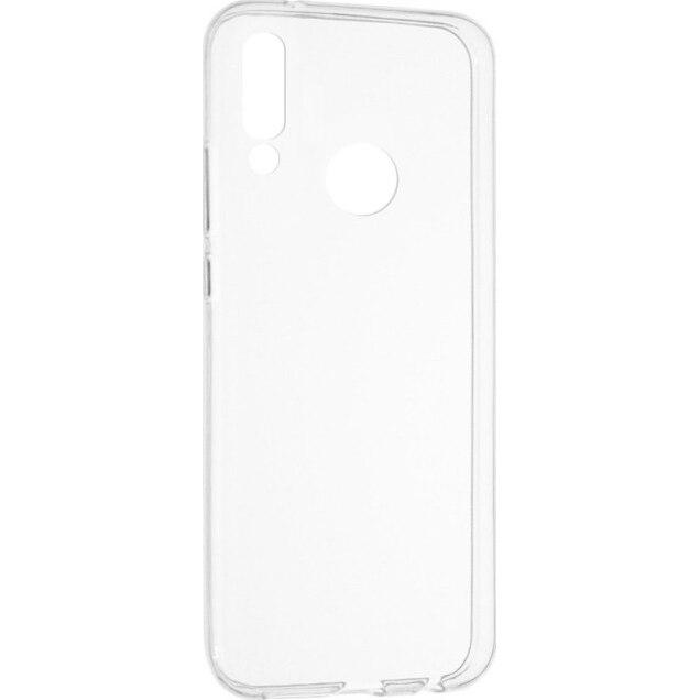 Fotografie Husa de protectie Lemontti Silicon pentru Huawei P20 Lite, Transparent
