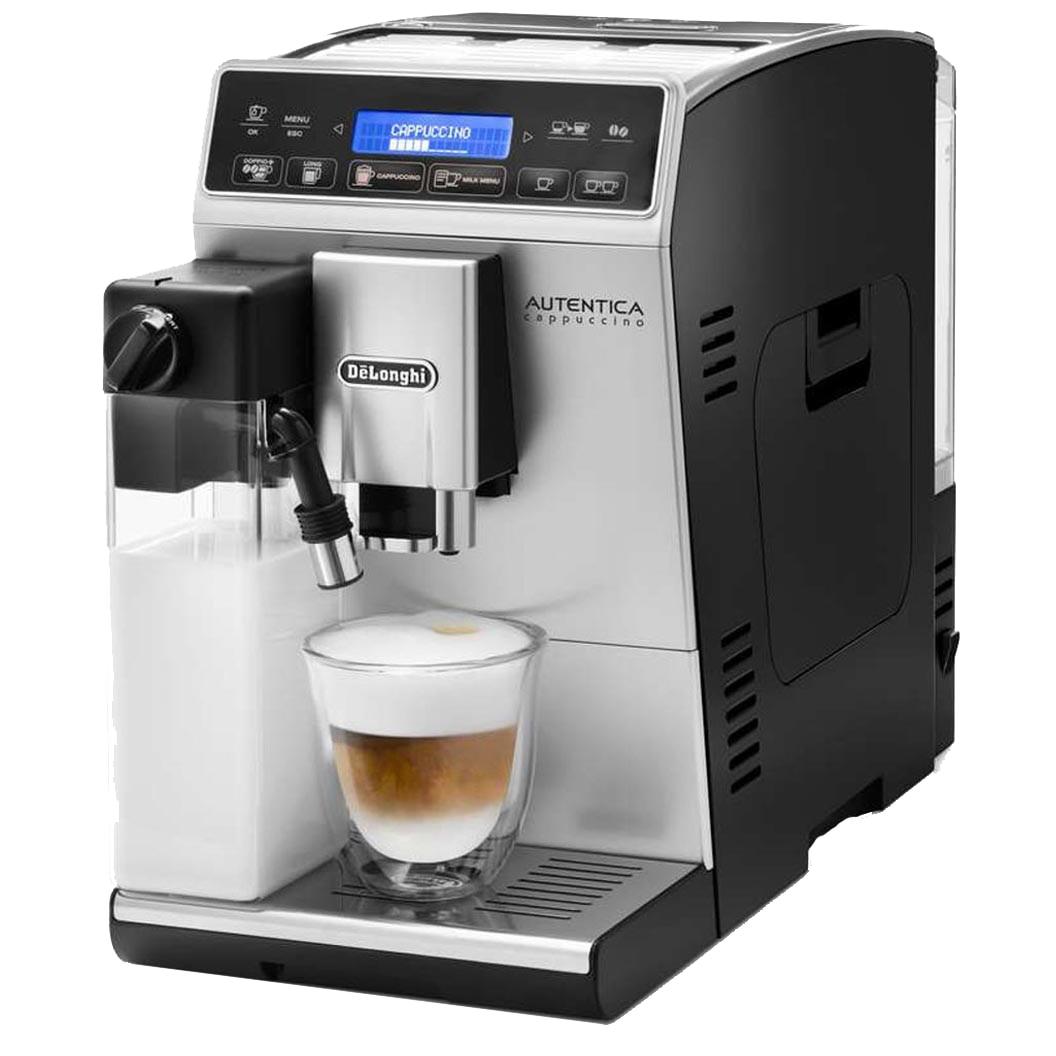 Fotografie Espressor Automat De'Longhi ETAM 29.660 SB, 1450W, 15 bar, 1.4 l, Argintiu